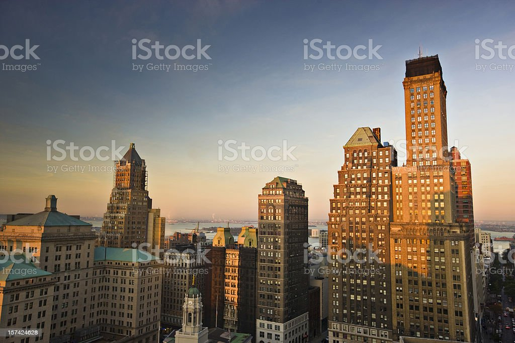 Morning in Brooklyn royalty-free stock photo