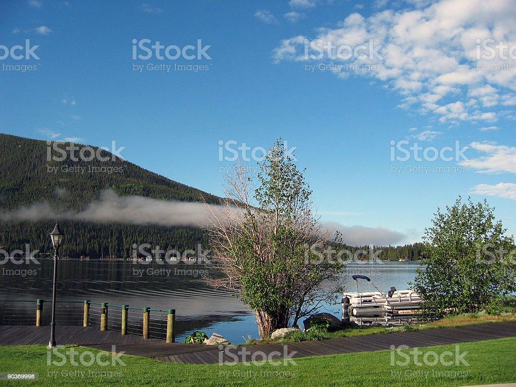 Morning in Grand Lake stock photo