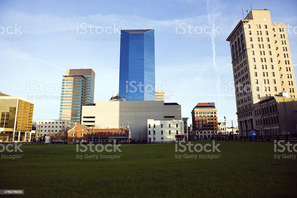 Morning in Lexington, Kentucky stock photo