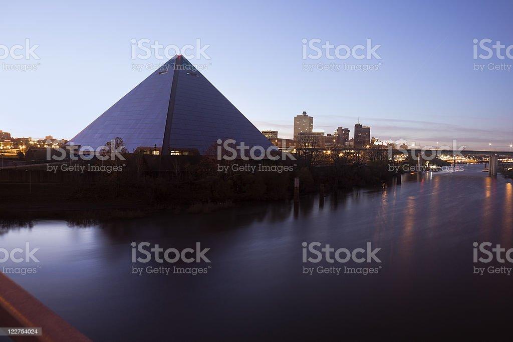 Morning in Memphis stock photo