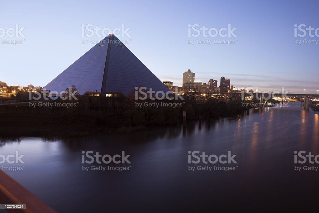 Morning in Memphis stock photo