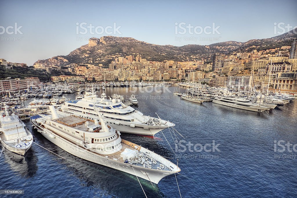 Morning in Monaco stock photo