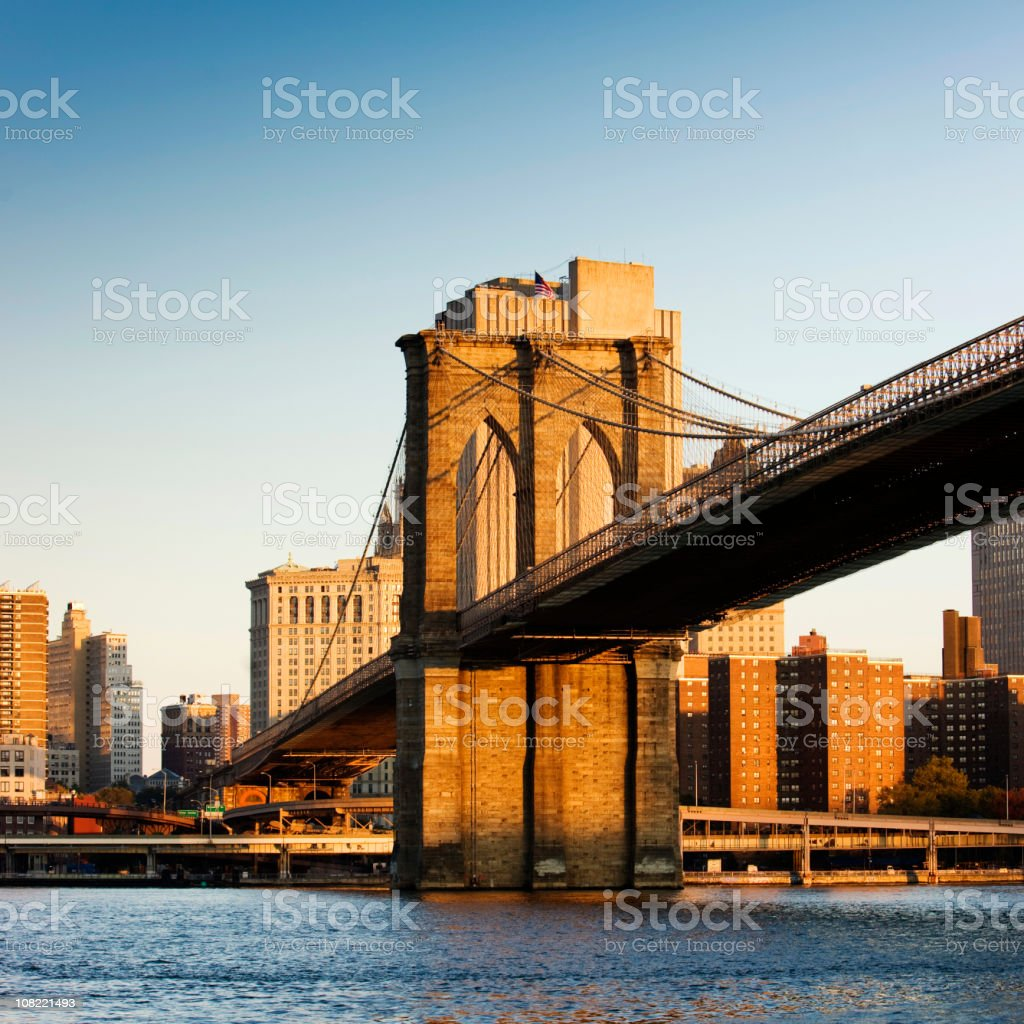 Morning in New York royalty-free stock photo
