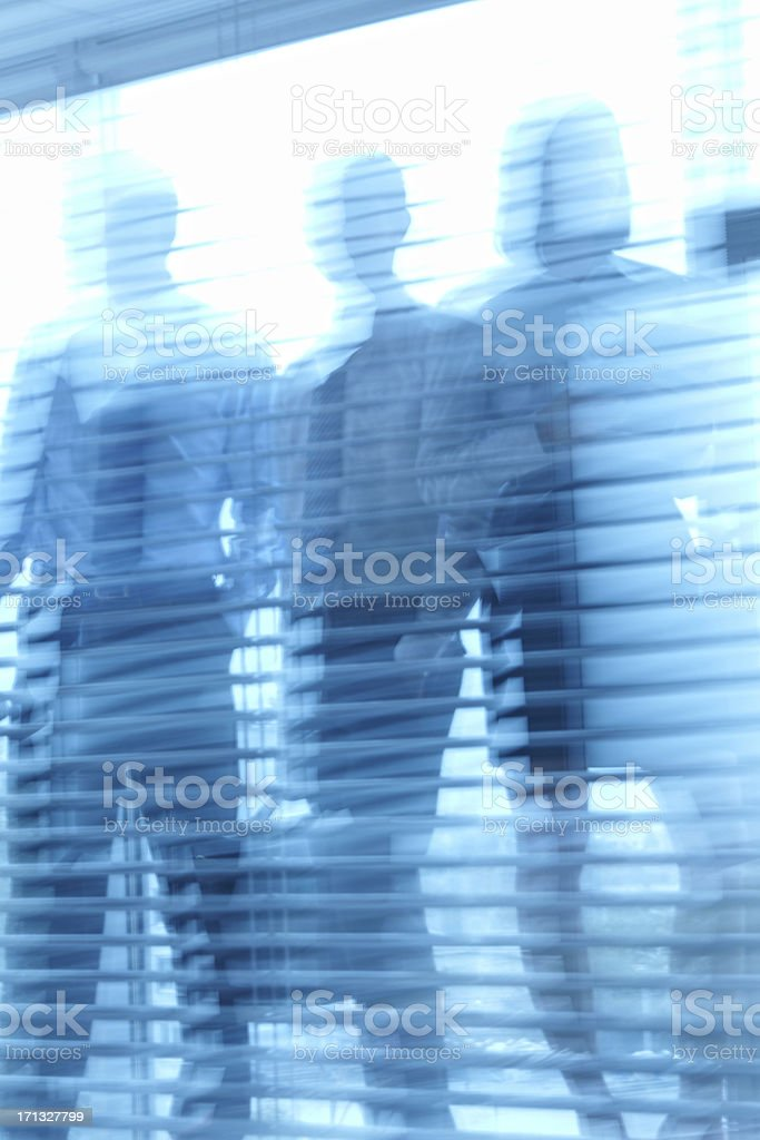Morning in office royalty-free stock photo