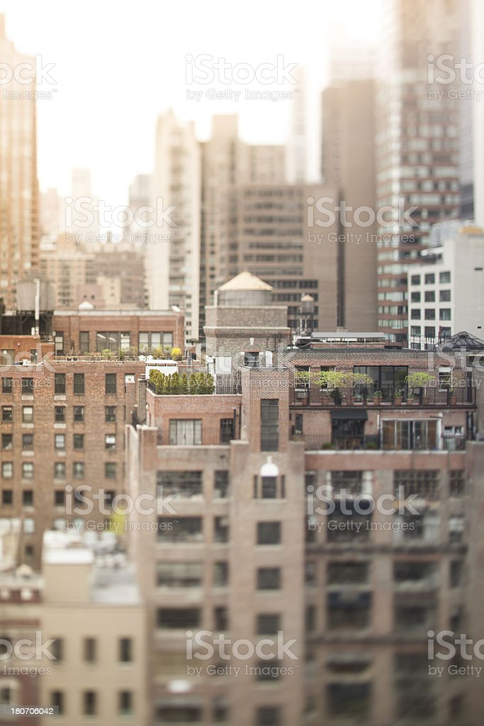 Morning In The City royalty-free stock photo