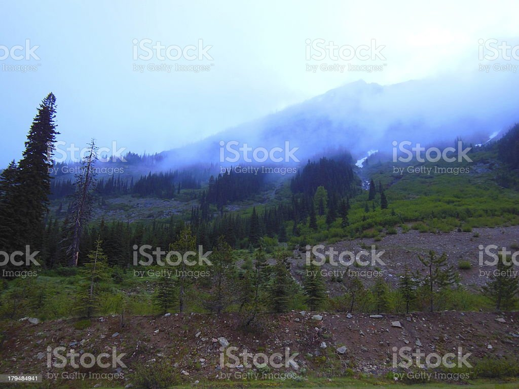 morning in the North Cascades royalty-free stock photo