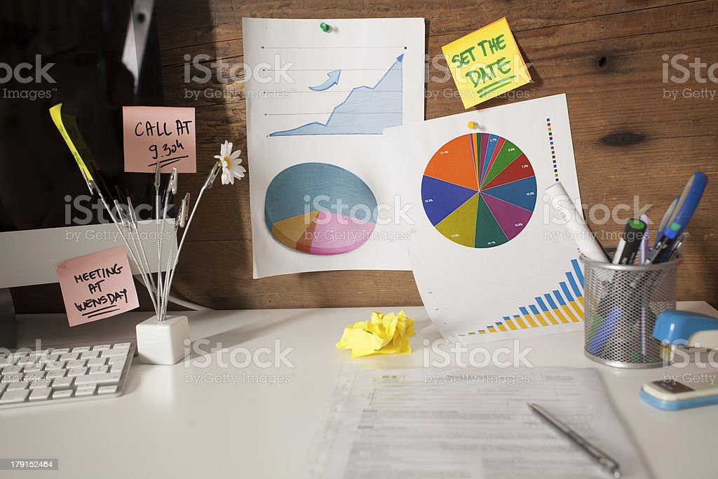 Morning In The Office royalty-free stock photo