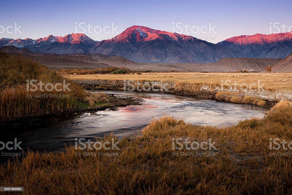 Morning In The Sierra Nevada stock photo