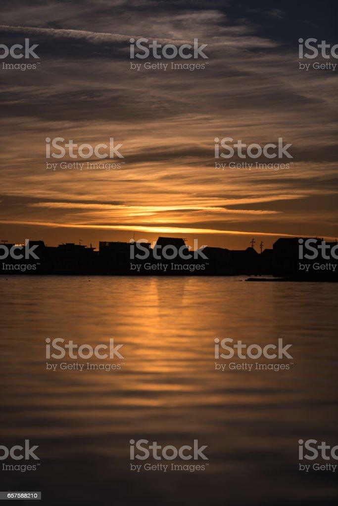 Morning in Tiburon stock photo