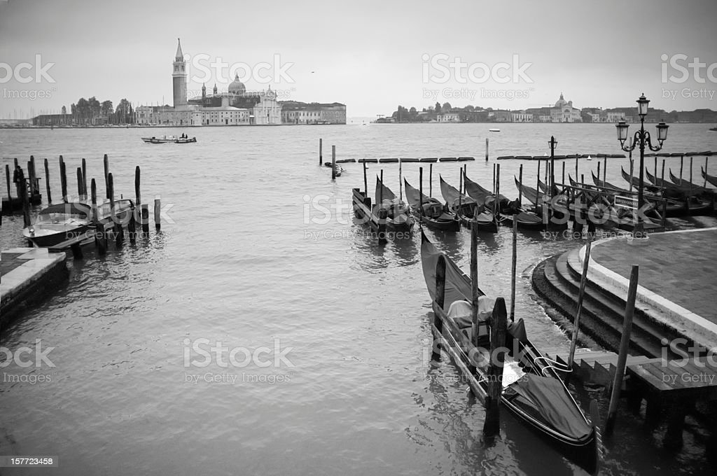 Morning in Venice. Italy stock photo
