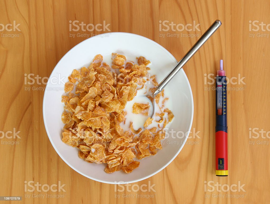 Morning Injection royalty-free stock photo