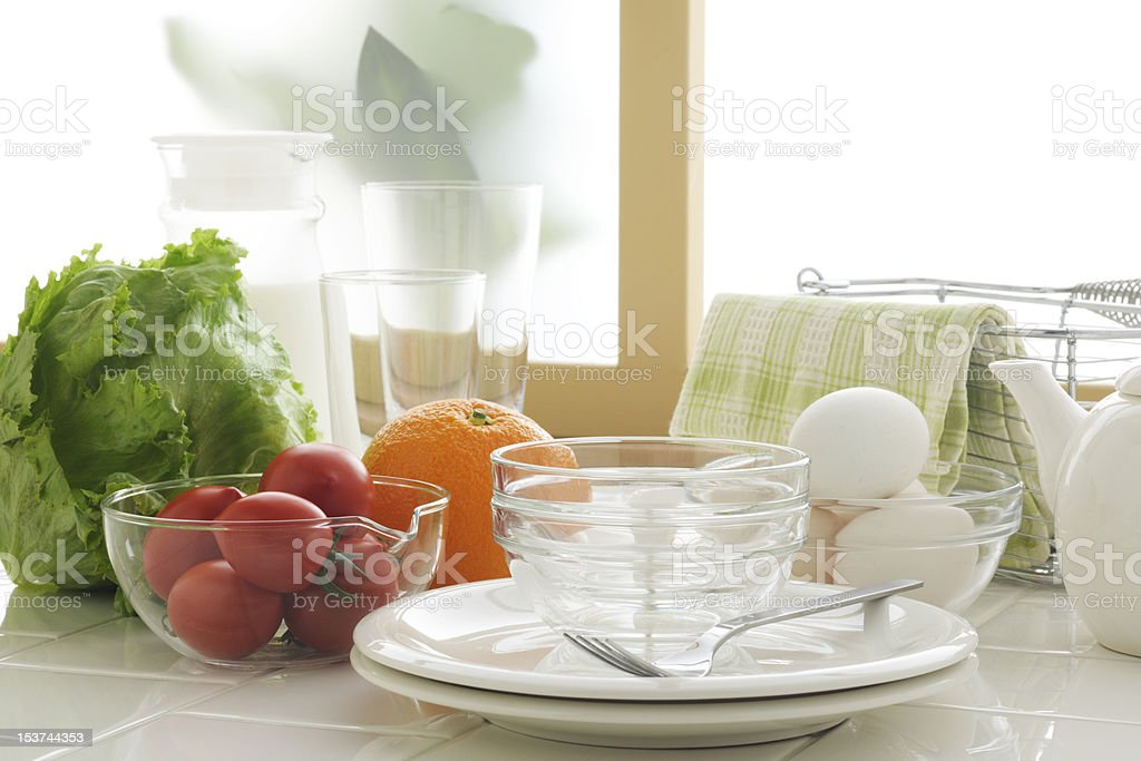 Morning kitchen royalty-free stock photo