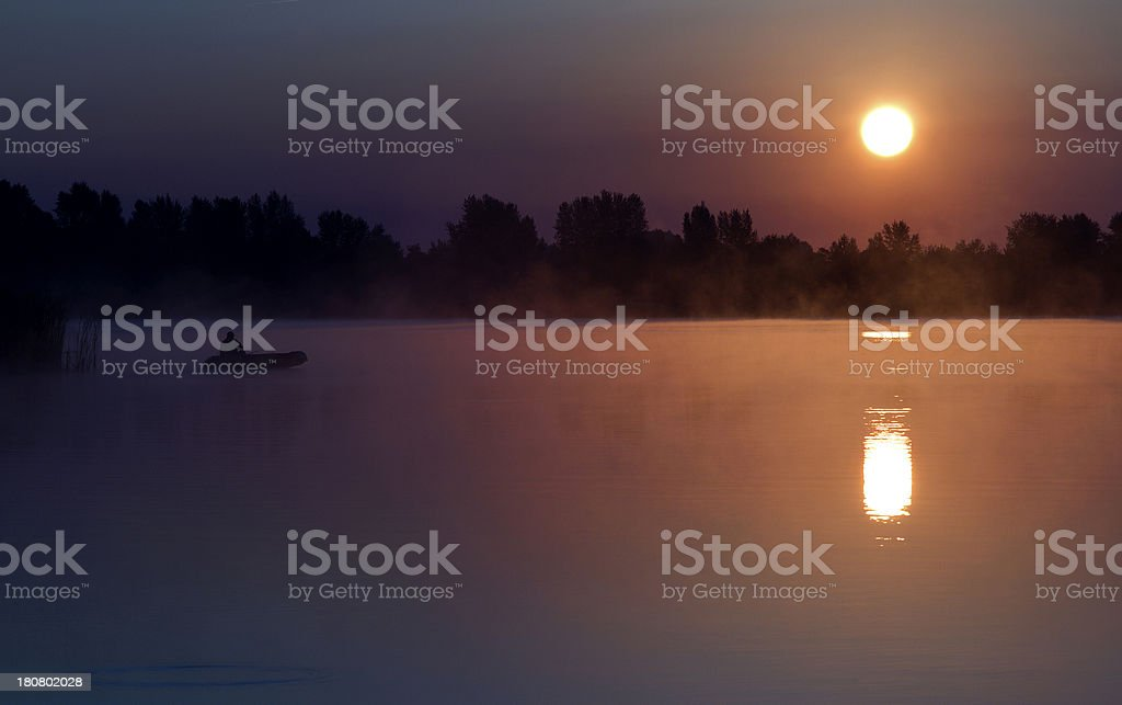 morning Landscape royalty-free stock photo