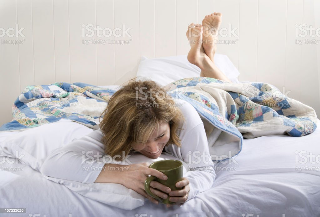 Morning Laughter royalty-free stock photo