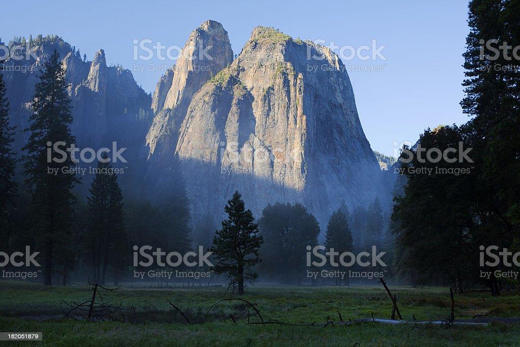 Morning light in Yosemite Valley royalty-free stock photo