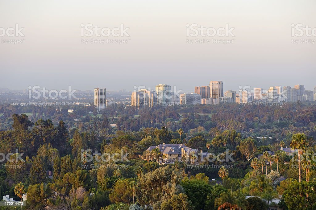 morning light on the west side stock photo