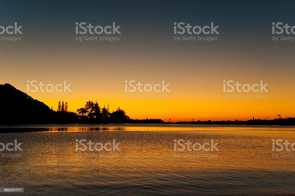 Morning light. stock photo