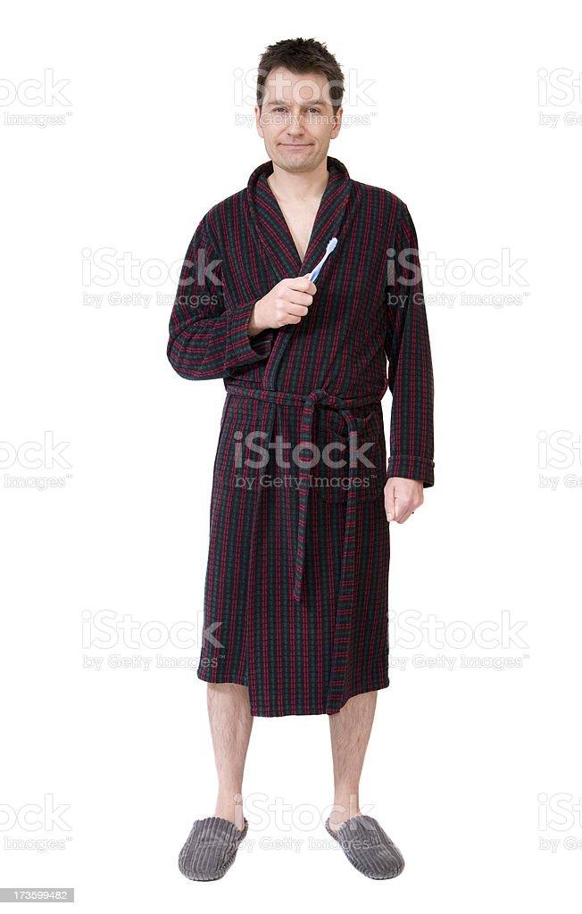Morning Man stock photo