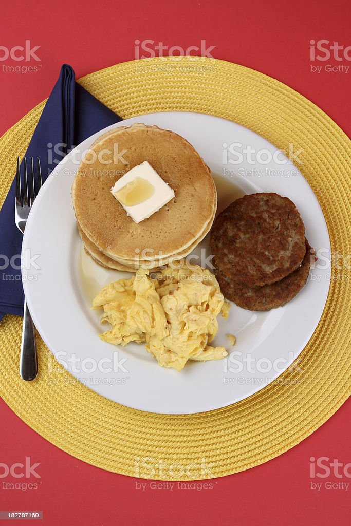 Morning Meal royalty-free stock photo