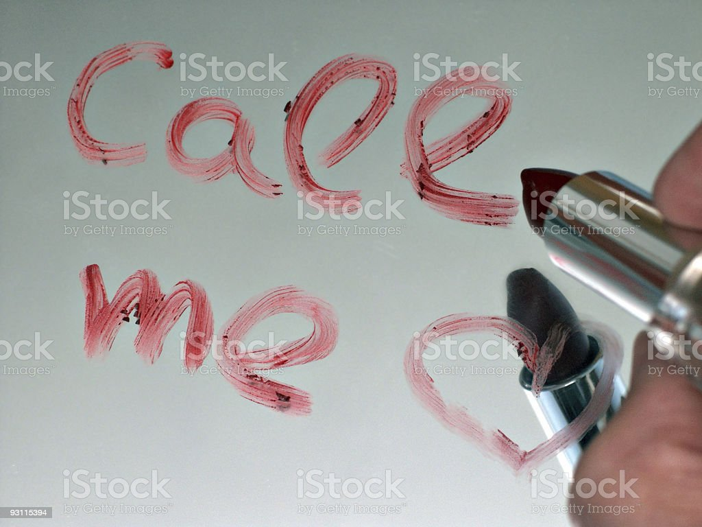 morning message royalty-free stock photo