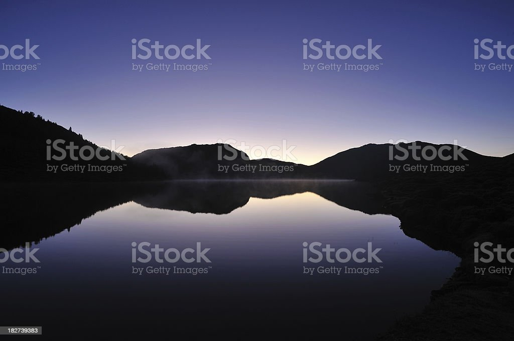 Morning Mountain royalty-free stock photo