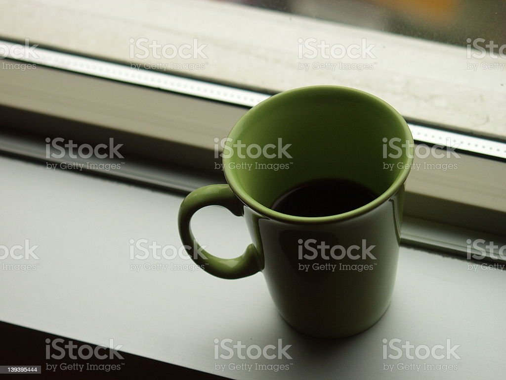 Morning mug royalty-free stock photo