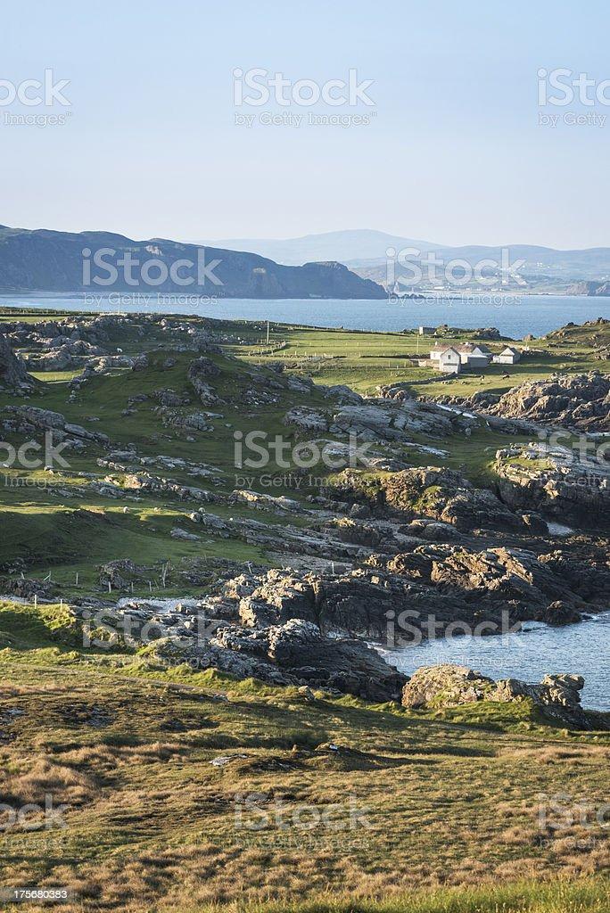 Morning Nort Ireland landscape royalty-free stock photo
