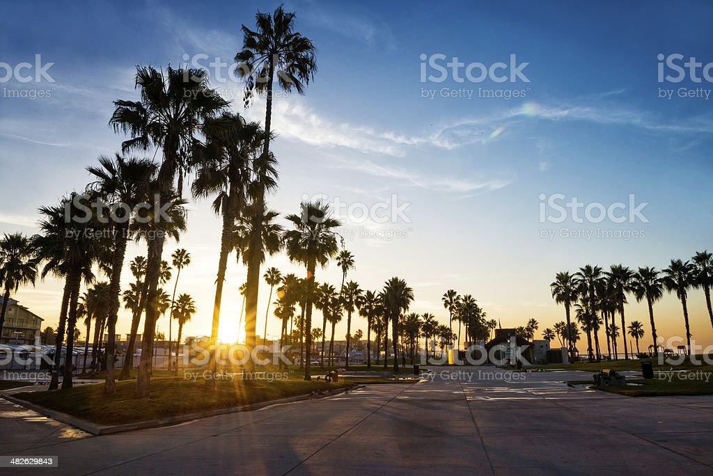 Morning of a new day stock photo