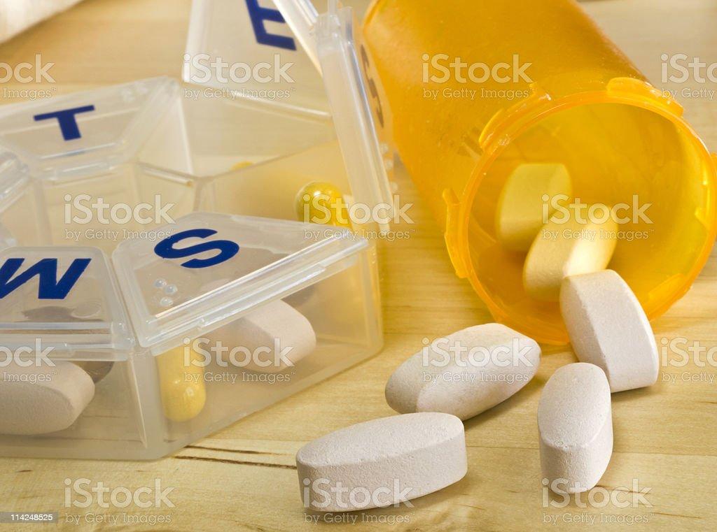Morning Pills stock photo