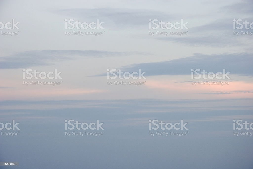 Morning Pink Skies royalty-free stock photo