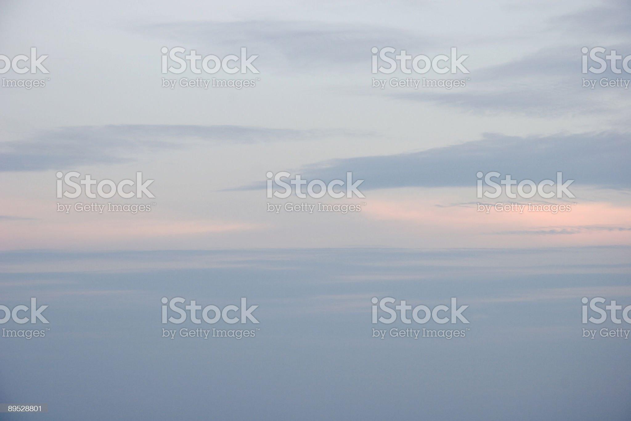 Morning Pink Skies royalty-free stock photo