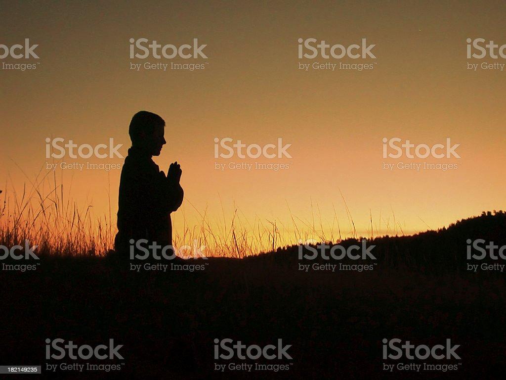 Morning Praise stock photo