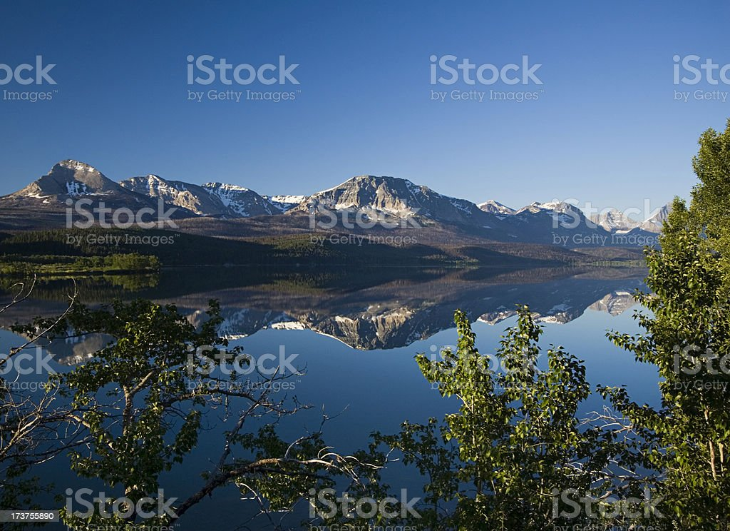 Morning Reflection royalty-free stock photo