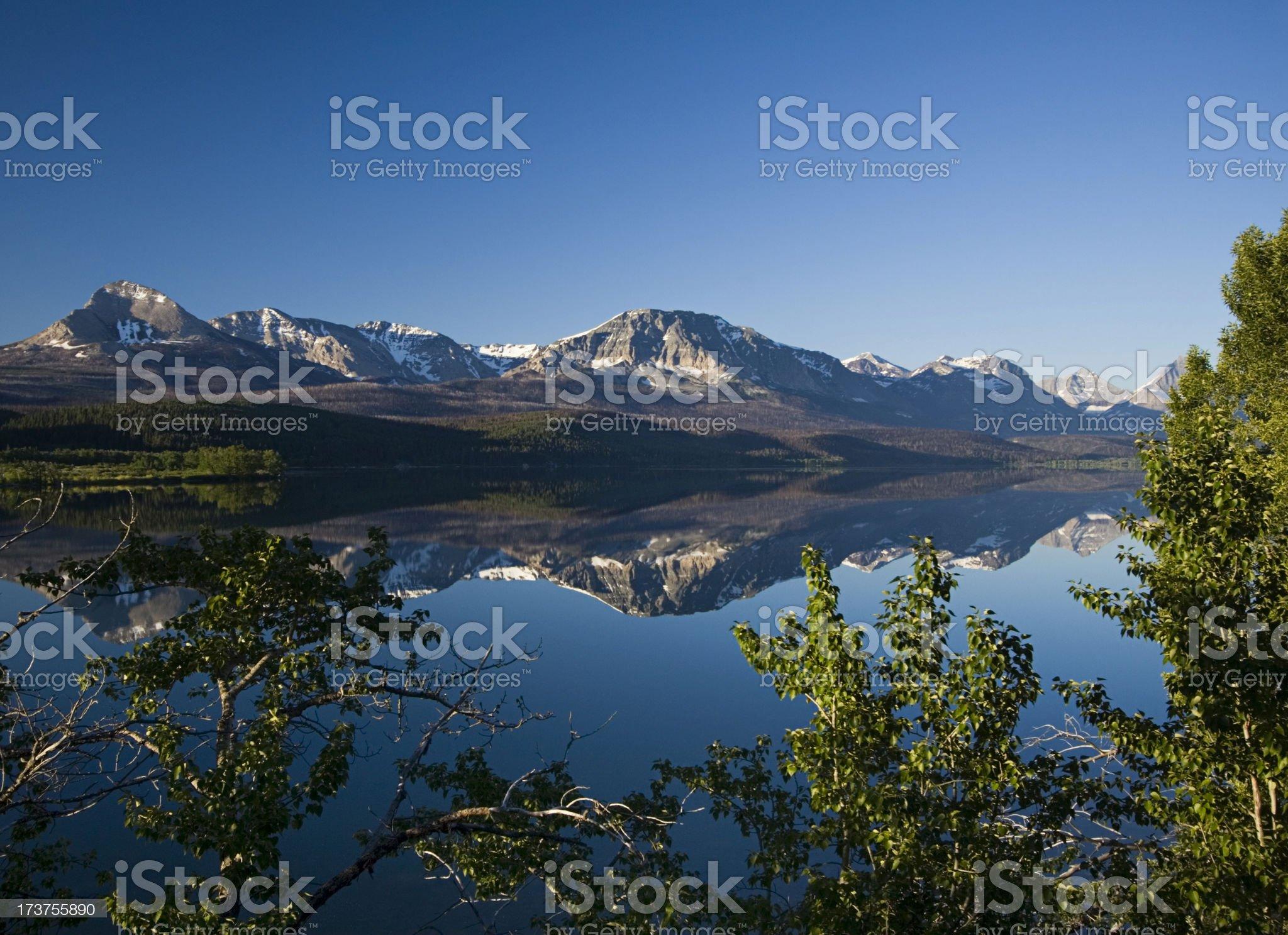 Morning Reflection royalty-free stock photo