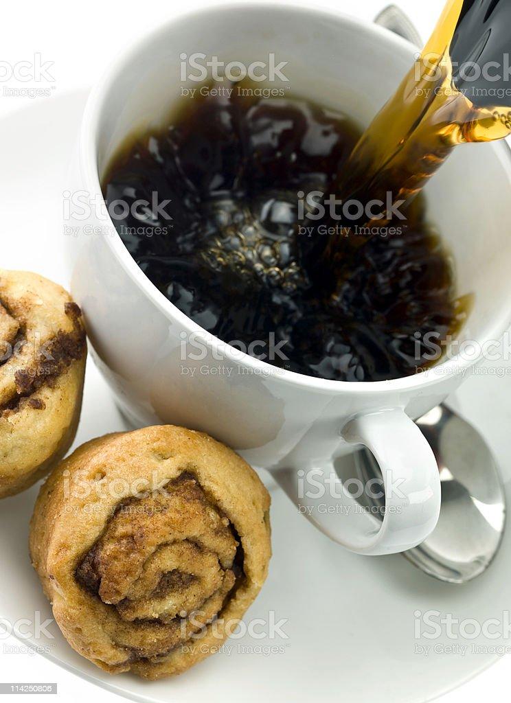 Morning rolls royalty-free stock photo