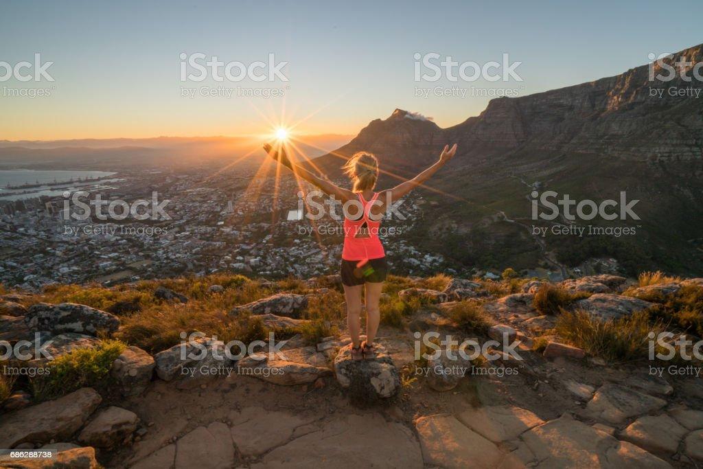 Morgenlauf, Cape Town, Südafrika – Foto