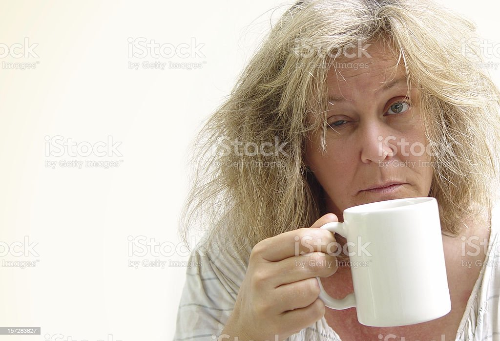 morning series - caffeine stock photo