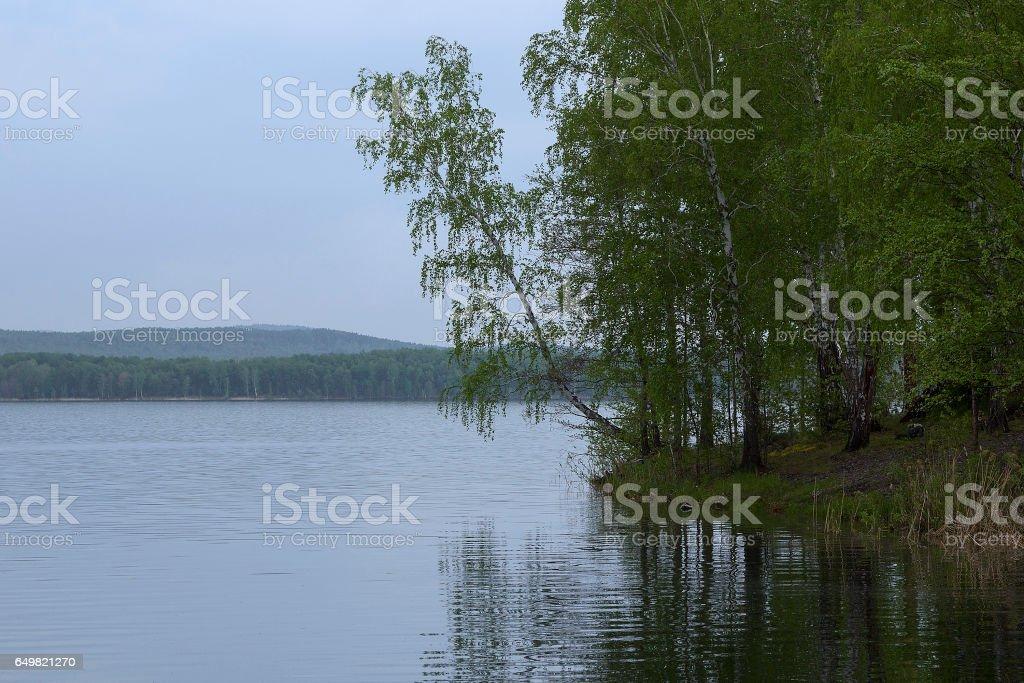 Morning silence stock photo
