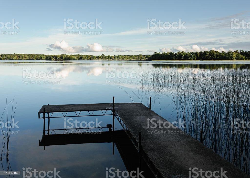 Morning Stillness royalty-free stock photo
