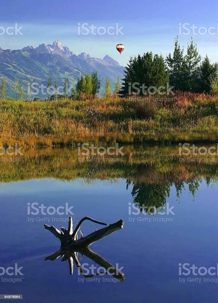 Morning Stillness stock photo