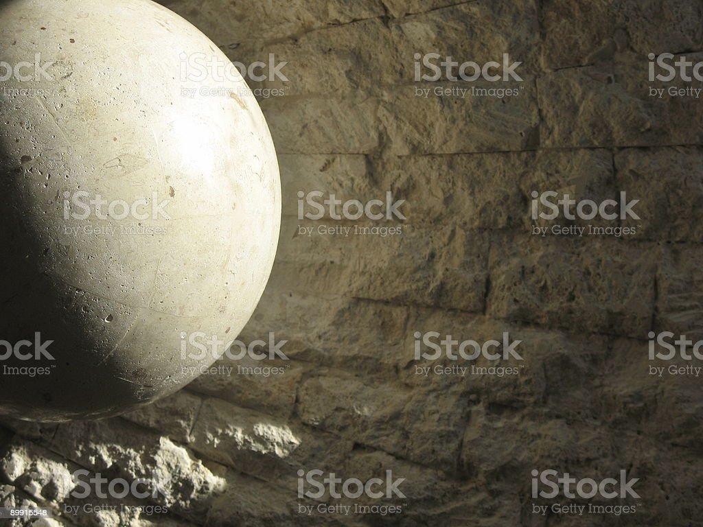Morning Stone stock photo