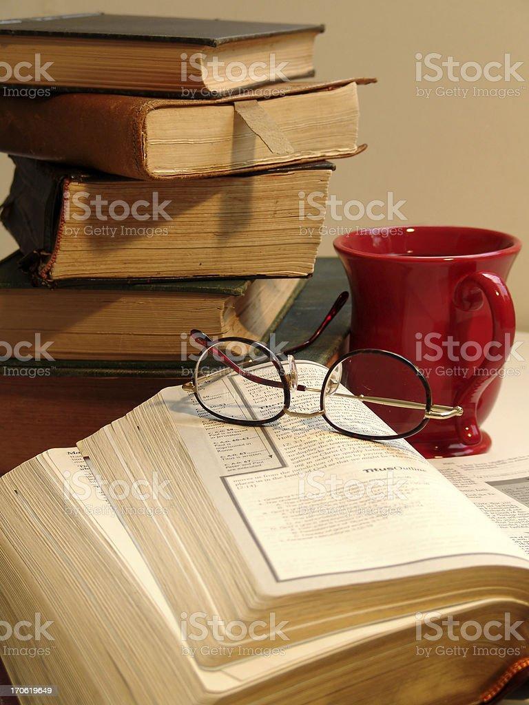 Morning Study royalty-free stock photo