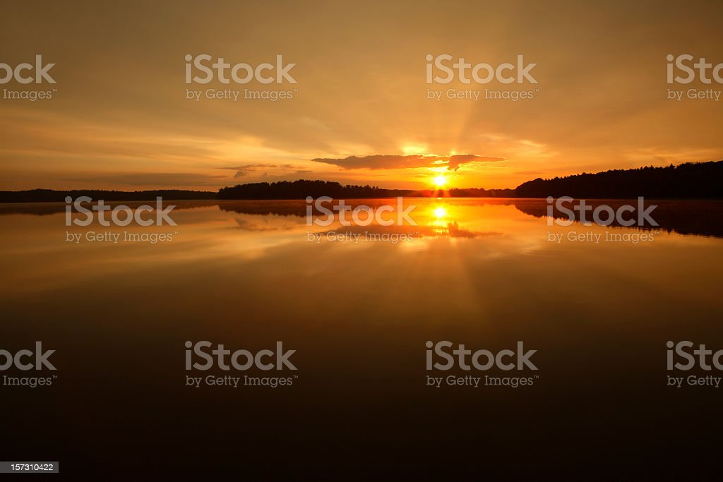 Morning Sun royalty-free stock photo