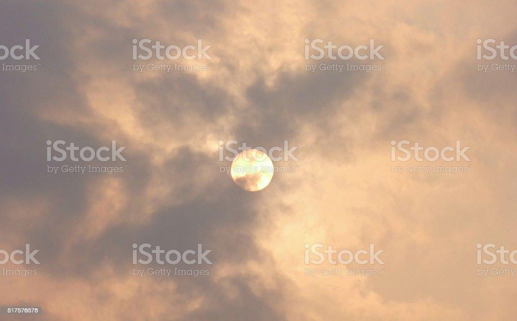 Morning Sun , Uttaradit  Thailand stock photo