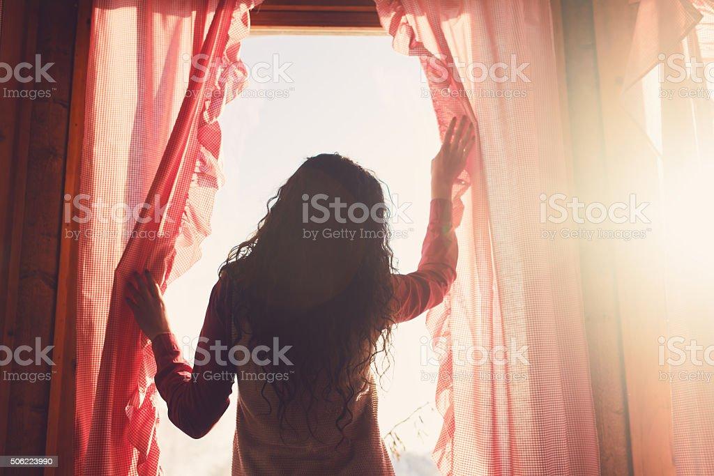 Morning Sunshine stock photo