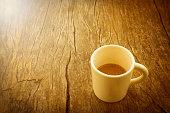 Morning time coffee