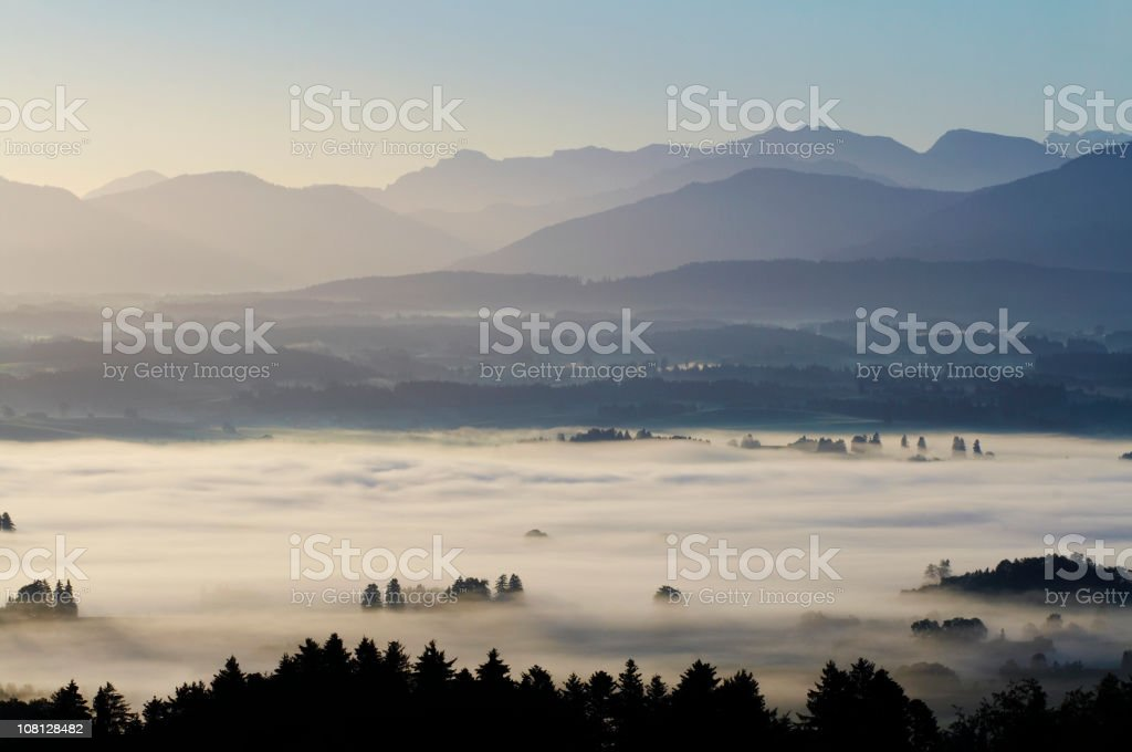 morning twighlight royalty-free stock photo