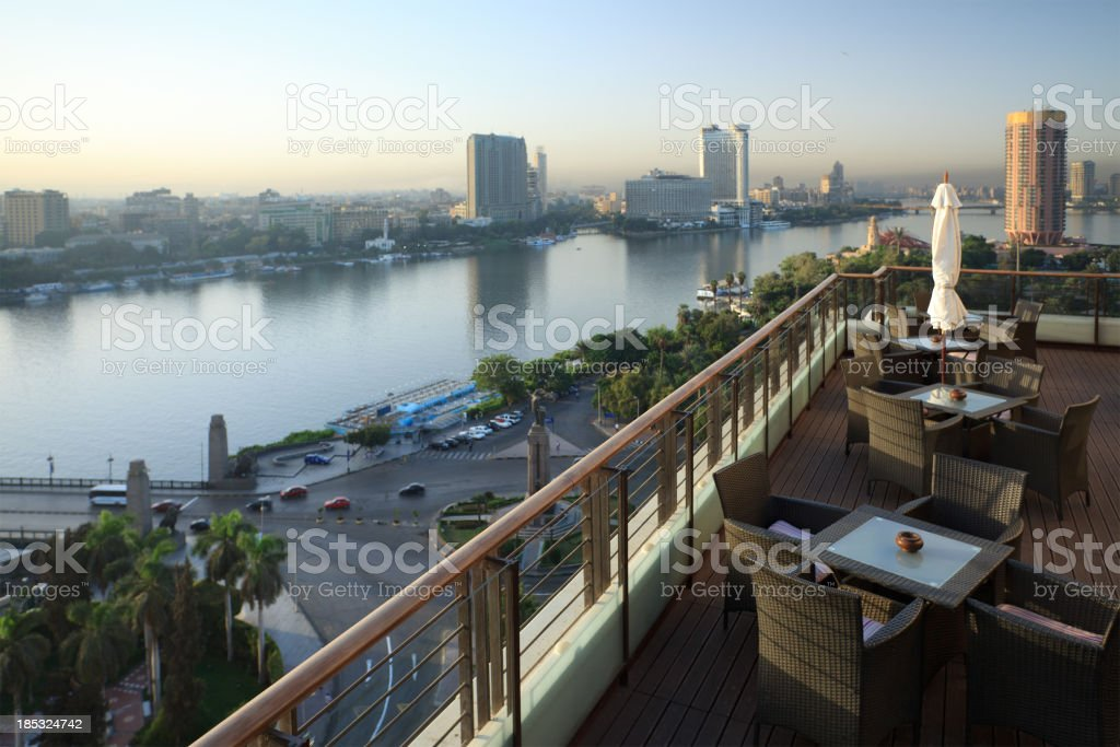 Morning view of Cairo royalty-free stock photo