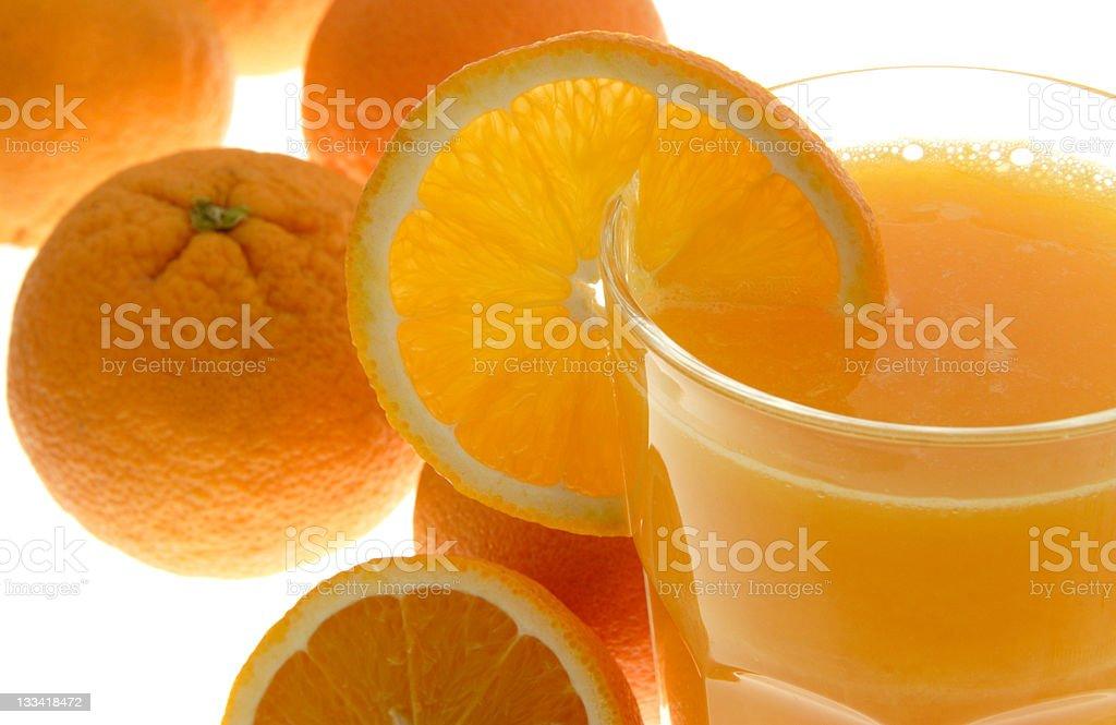Morning vitamins royalty-free stock photo