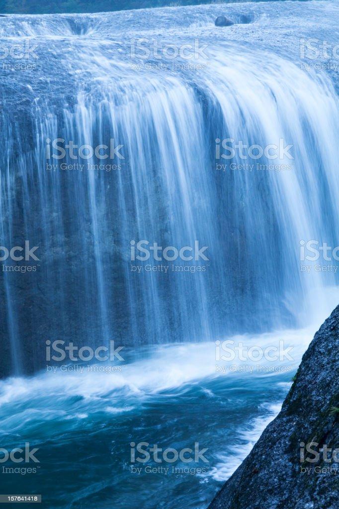 Morning Waterfalls royalty-free stock photo